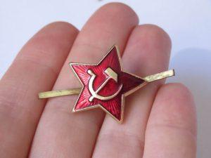 Prendedor Estrella Roja 1 La Panadería Rusa