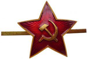 Prendedor Estrella Roja La Panadería Rusa