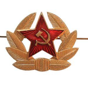 Prendedor Soviético Laurel Estrella La Panadería Rusa