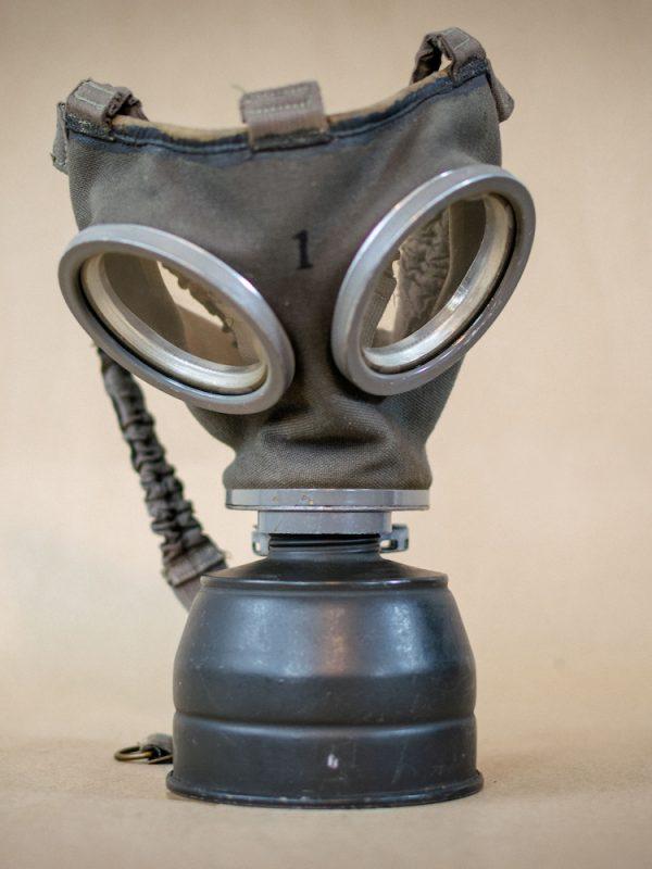 Máscara Antigas Sueca 1943 Filtro Restaurado 829