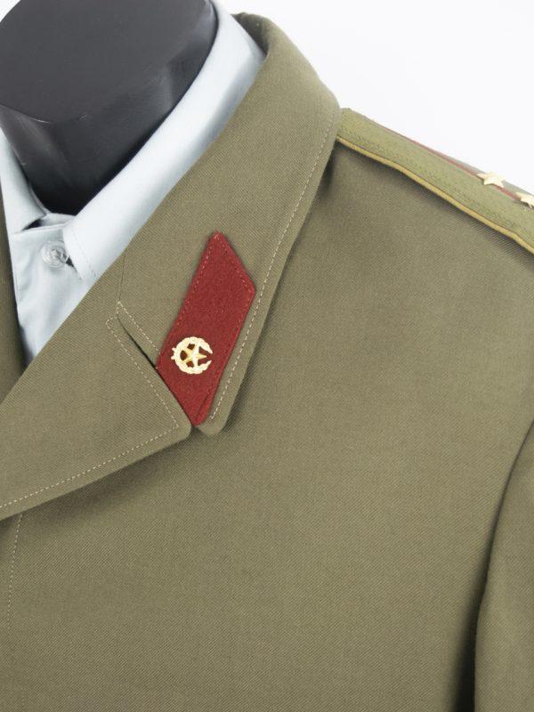 Abrigo Verde Oficial Soviético