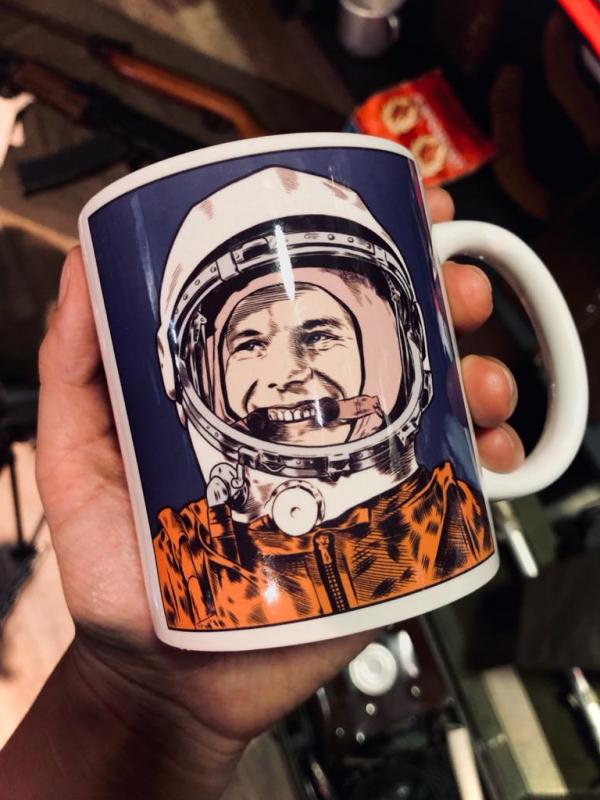 Mug Yuri Gagarin