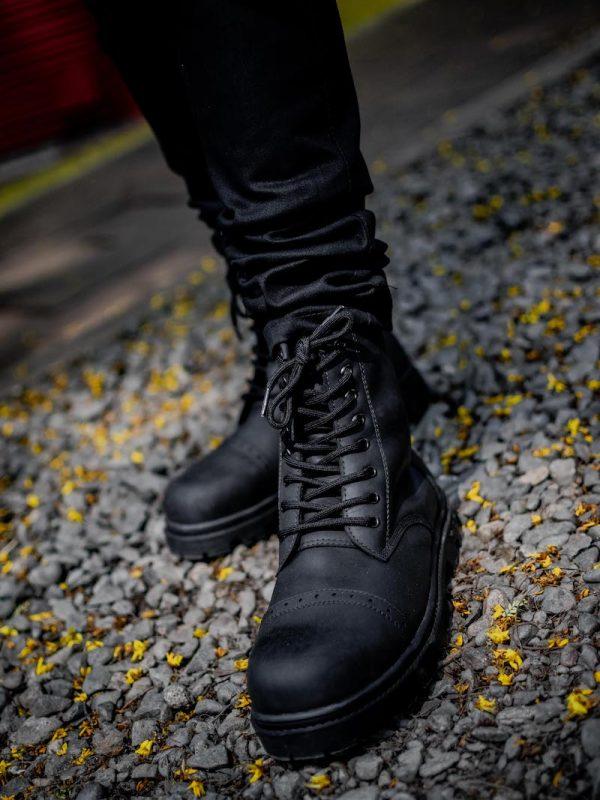 Botas Combat Negro