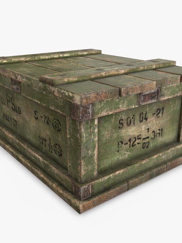 Caja de Guerra de Bronce